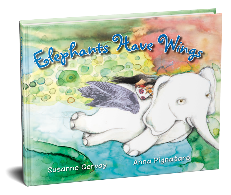 Elephants Have Wings Book by Susanne Gervay OAM